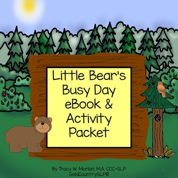 Little Bear's Busy Day Digital eBook PLUS companion activities