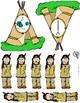 Little Bear's Teepee Initial Sounds Activity