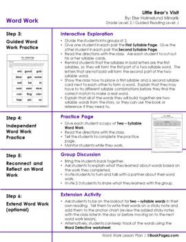 Little Bear's Visit Lesson Plans & Activities Package, Second Grade (CCSS)