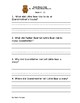 Little Bears Visit Reading Comprehension Questions