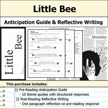Little Bee (The Other Hand) - Anticipation Guide & Reflection