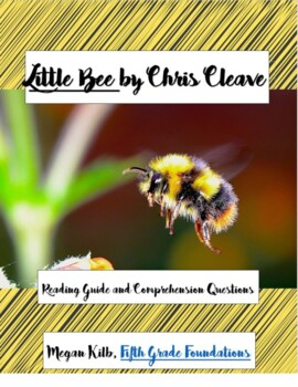 Little Bee Chris Cleave Reading Guide/Comprehension Questions