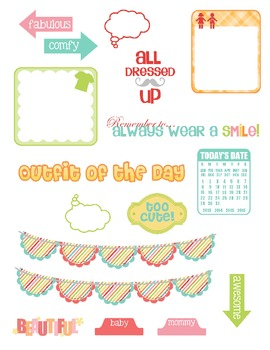 Little Big Moments Pages 6-7 Printable