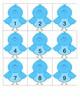 Little Bird Calendar Cards with an AB Pattern