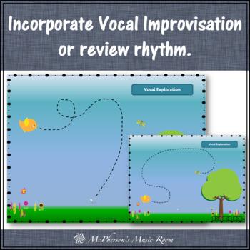 Little Bird: Orff, Rhythm, Form, Instruments (vocal exploration & eighth notes)