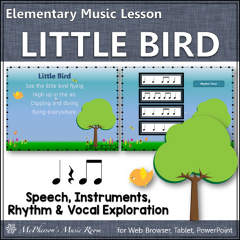 Little Bird: Orff, Rhythm, Form, Instruments (vocal explor