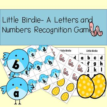 Little Birdie- Letter and Number Recognition Games