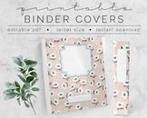 Little Birdies BINDER COVER | Google Slides Template | DIY