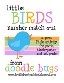 Little Birdies: Number & Number Word Match