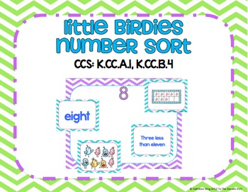Little Birdies Number Sort