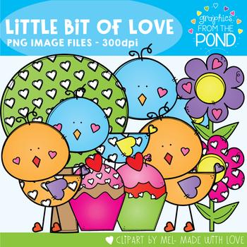 Little Bit of Love - Valentine's Day Clipart