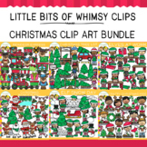 Little Bits Of Whimsy Clips: Christmas Clip Art GROWING Bundle