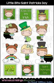 Little Bits Saint Patricks Day Clipart Collection