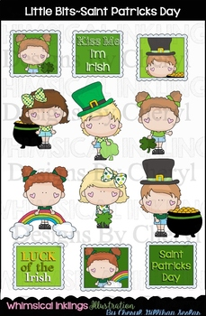 Little Bits Saint Patricks Day Clipart Collection