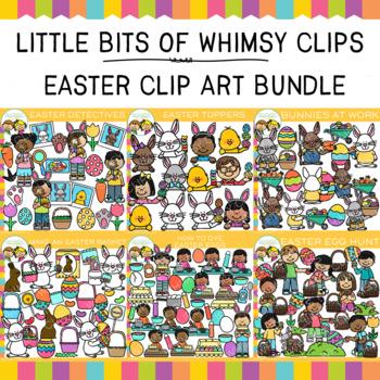 Little Bits of Whimsy Clips: Easter Clip Art Bundle