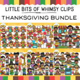 Fun Thanksgiving Clip Art Bundle