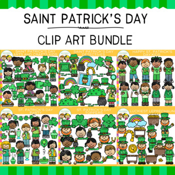Little Bits of Whimsy Clips: Saint Patrick's Day Clip Art Bundle