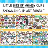 Snowman Clip Art Bundle