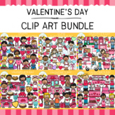 Little Bits of Whimsy Clips: Valentine's Day Clip Art Bundle