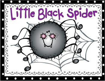 Little Black Spider (emergent reader)