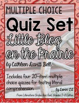Little Blog on the Prairie Quiz Set