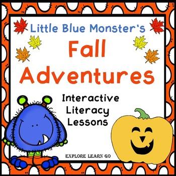Little Blue Monster's Fall Adventures Interactive Literacy