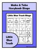 Little Blue Truck BINGO Make & Take, SPEECH THERAPY, Early Childhood