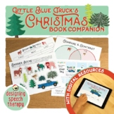 Little Blue Truck Christmas Book Companion