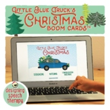 Little Blue Truck Christmas Book Companion BOOM CARDS™