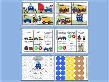Little Blue Truck:  Literacy, Language and Listening Book Companion