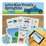 Little Blue Truck's Springtime Book Companion