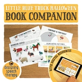 Little Blue Truck's Halloween Book Companion with Boom Cards