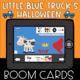 Little Blue Truck's Halloween Speech Therapy Boom Cards Bo