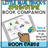 Little Blue Truck's Springtime Book Companion Boom Cards