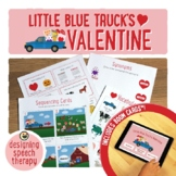Little Blue Truck's Valentine Book Companion and Boom Cards™