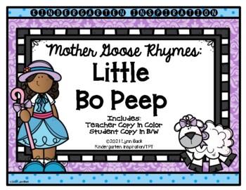 Mother Goose Rhymes Little Bo Peep