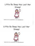 Little Bo Peep Beginning Reader