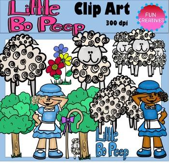 Little Bo-Peep Clip Art