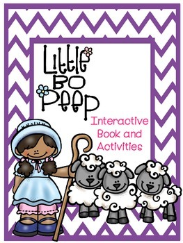Little Bo Peep Interactive Book and Activities