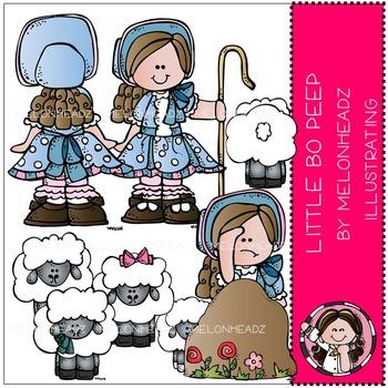 Little Bo Peep clip art - COMBO PACK- by Melonheadz