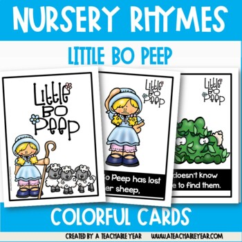 Little Bo Peep- Nursery Rhyme