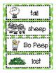 Little Bo Peep Nursery Rhyme mini-lesson for PreK, K, and Homeschool!
