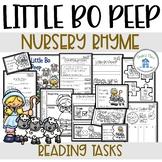 Little Bo Peep Reading and Writing Tasks