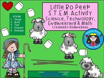Little Bo Peep STEM Science, Technology, Engineering & Math Nursery Rhymes