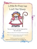 Little Bo Peep Short Vowel Reading Game (CVC Pattern)