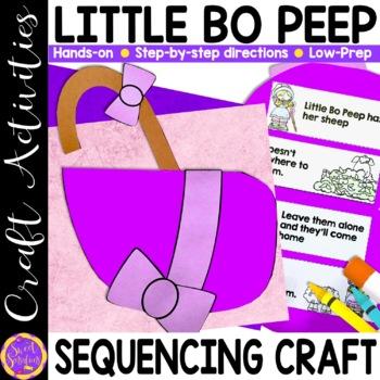 Little Bo Peep craft activity