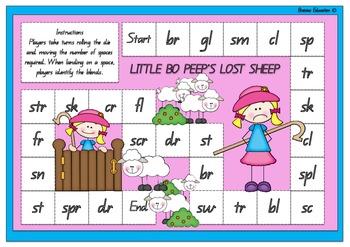 Little Bo Peeps Lost Sheep Blends Board Game