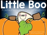 Little Boo: A Literacy Companion Pack