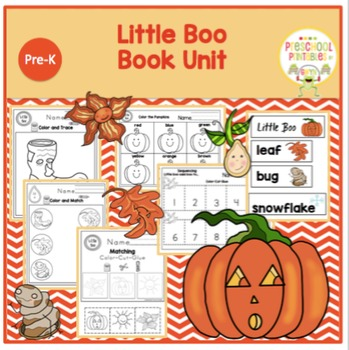"Little Boo ""Book Unit"""