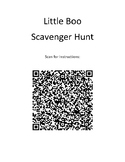 Little Boo - QR Code Scavenger Hunt - Halloween Story - Fall Activity